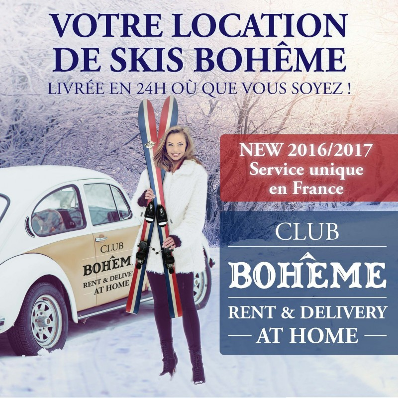 Location de skis Bohême